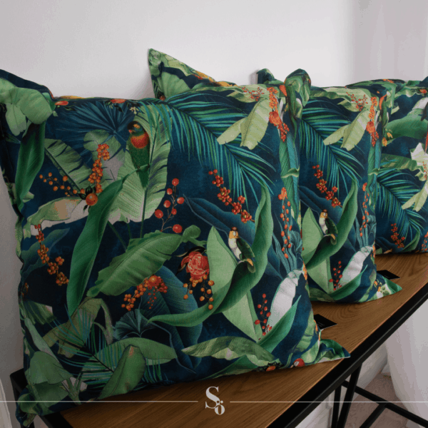 tropical cushion south africa leaves