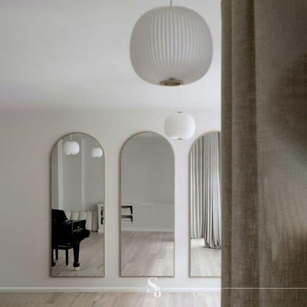 shop full length modern gold mirror online south africa