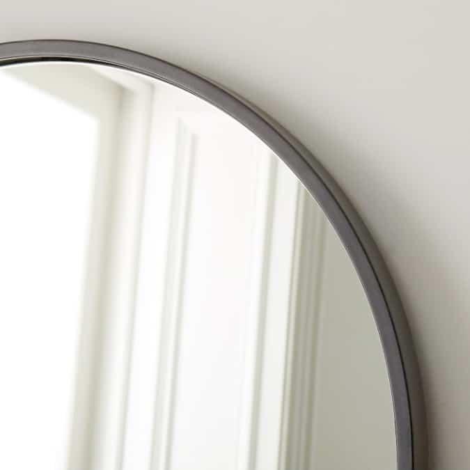 shop dark grey floor standing modern mirror light grey online south africa