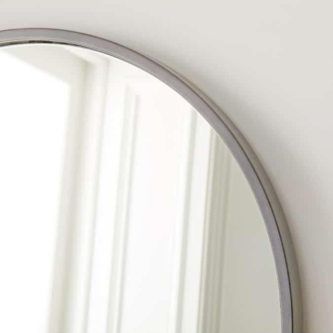 shop light grey floor standing modern mirror light grey online south africa