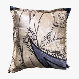 SCT009 - the leafy circle scatter cushion