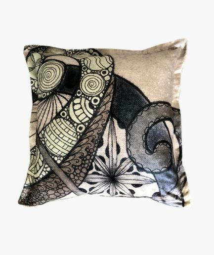 SCT011 - the genie twirl scatter cushion