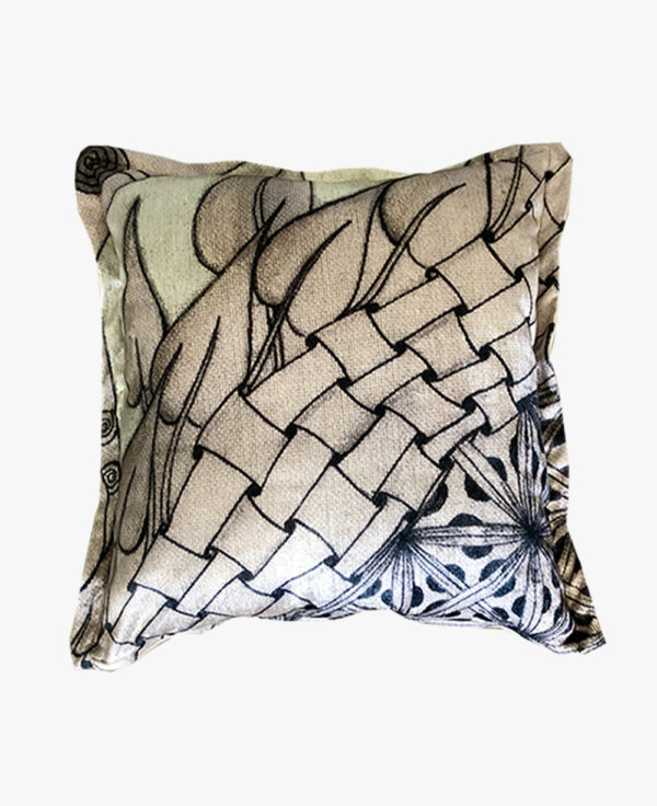 SCT020-the flowy one scatter cushion