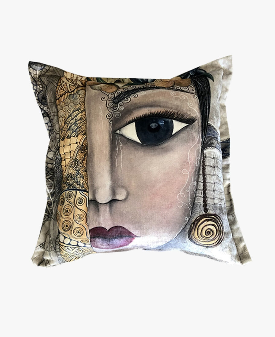 SFC008-1 _ Mexican Girl scatter cushion