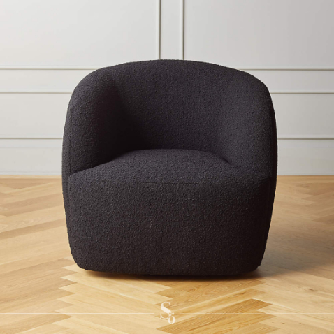 shop ora tub arm chair black online schönn south africa
