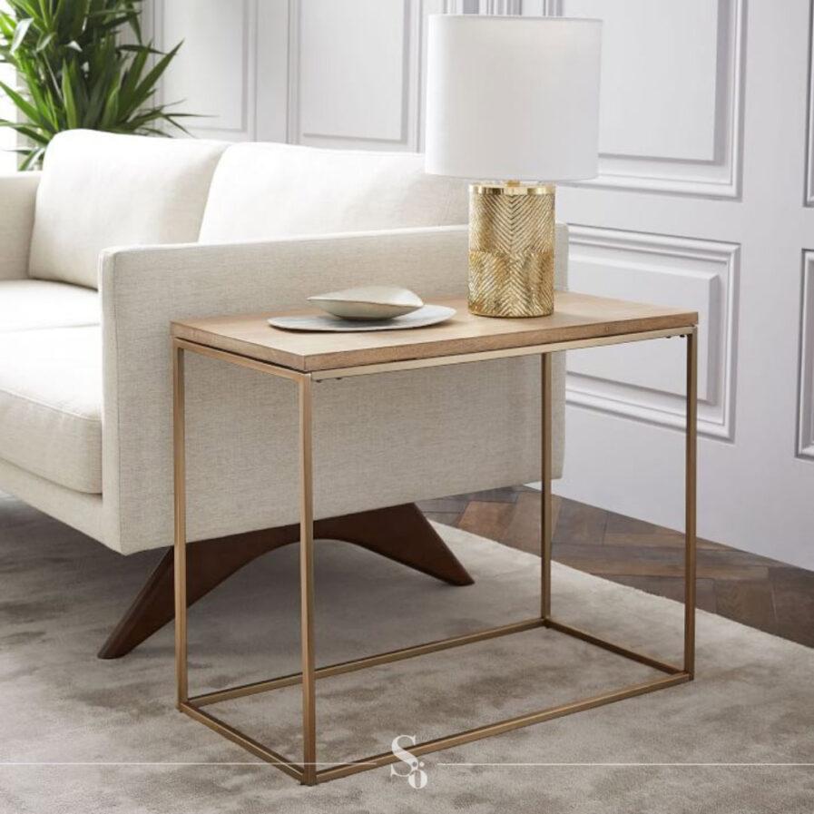 shop henley wood table online schönn south africa_